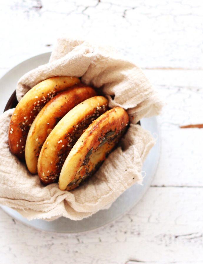 Koolhydraatarme bagels (basisrecept)