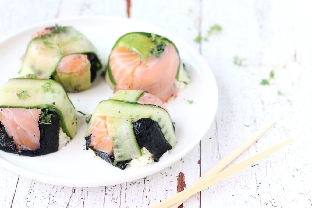 koolhydraatarme sushi bonbons