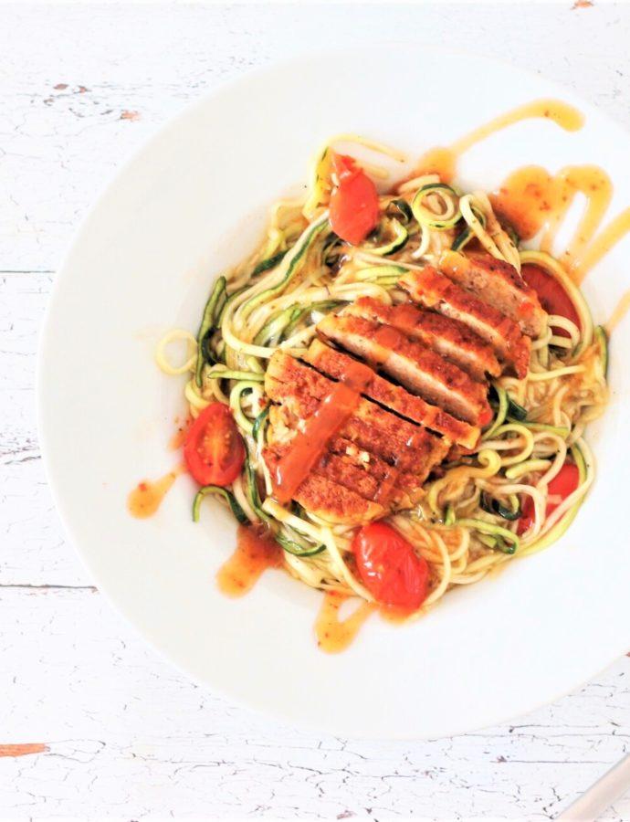 Koolhydraatarme Tasty Toscane courgetti