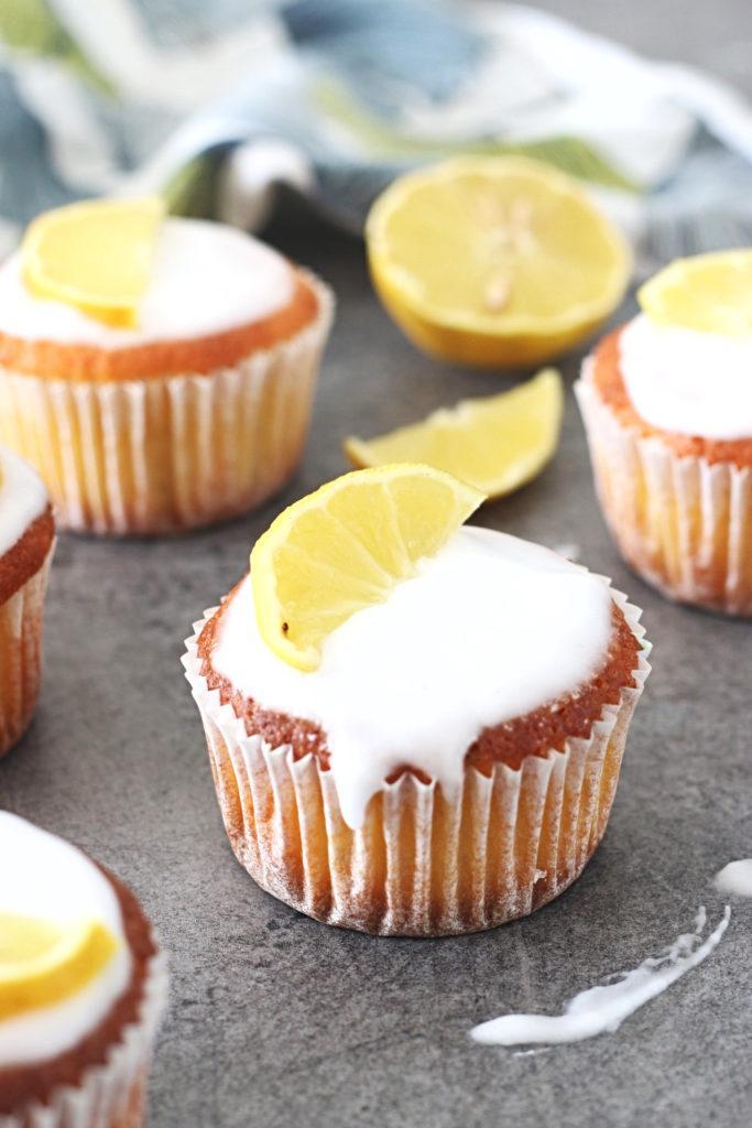 koolhydraatarme citroen cupcakes