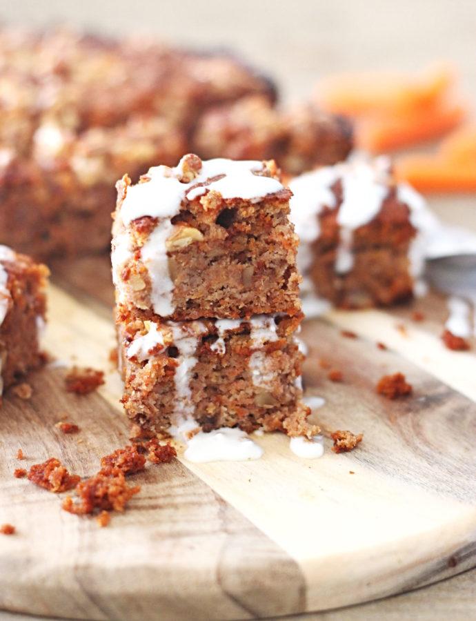 Koolhydraatarme worteltjes cake