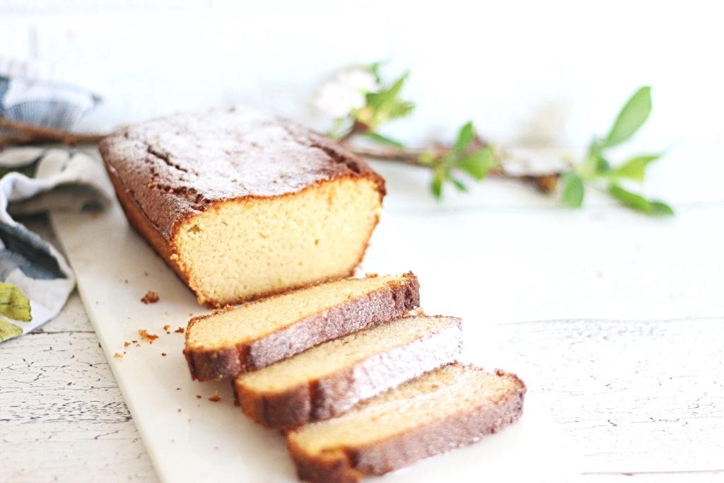 koolhydraatarme vanille cake