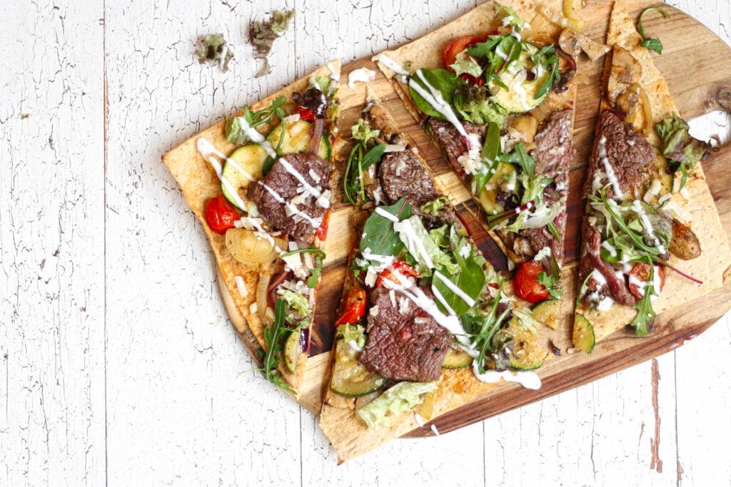 koolhydraatarme bruschetta met groenten