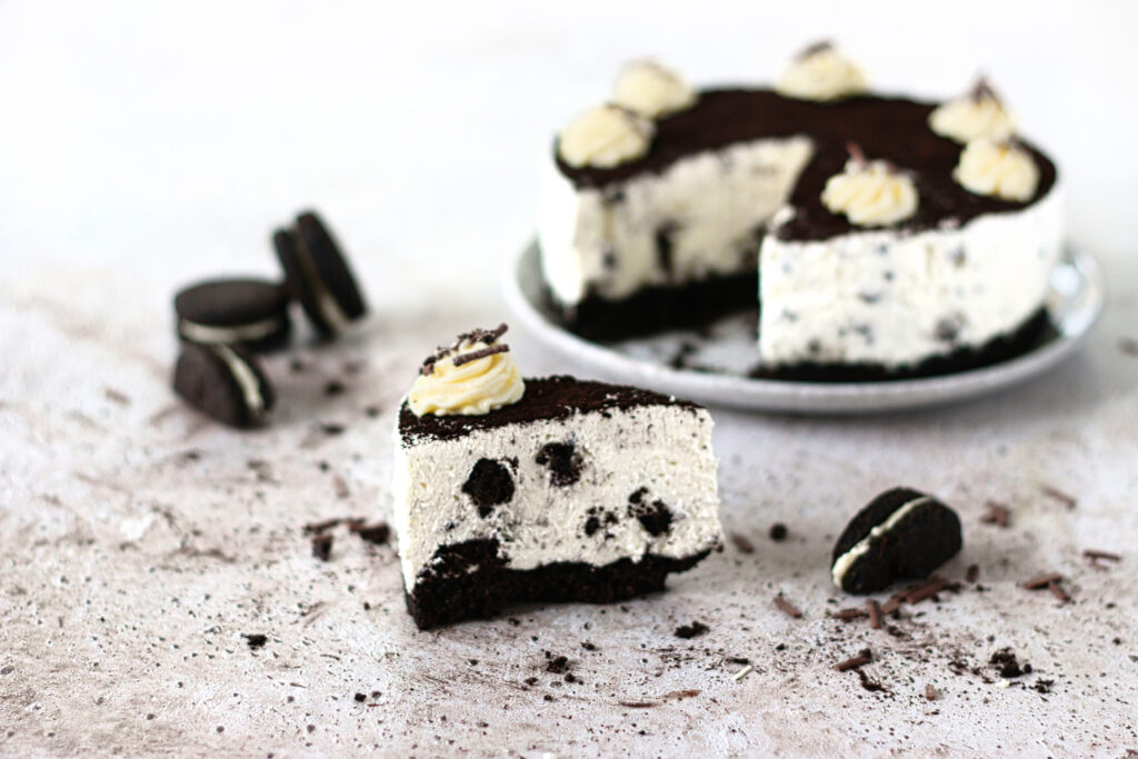 koolhydraatarme oreo cheesecake